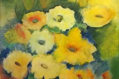 #66 Blomsterflor 80x100 cm.