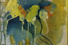 #63 abstrakt 30x30 cm. Solgt